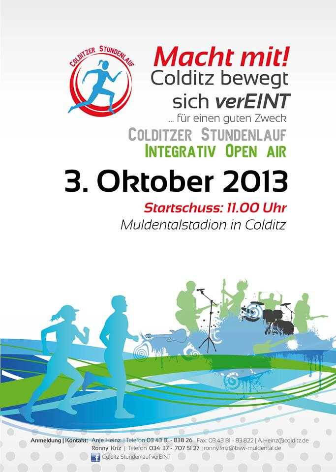 Colditz Vereint Flyer